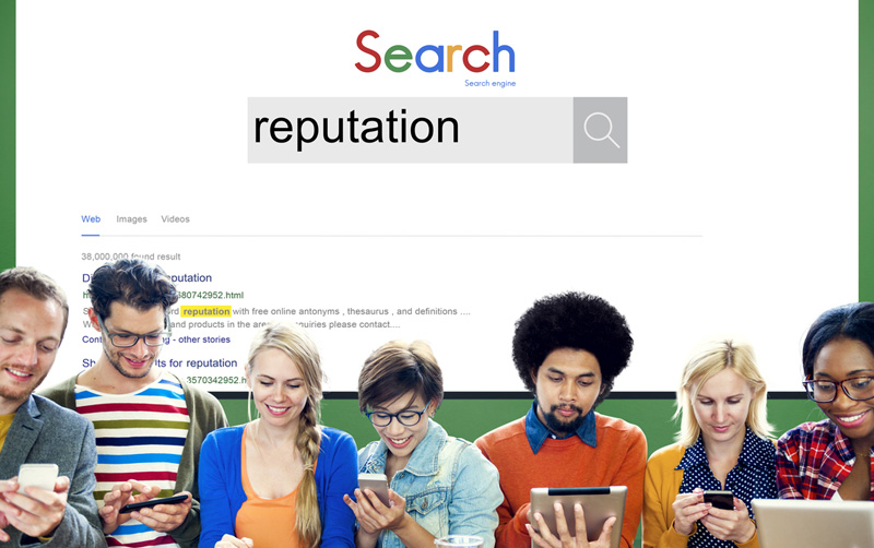 Negative search results are injurious to your brand reputation.